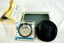 Vintage Original Spiratone 46mm Opticap UV Filter Boxed Unused Complete