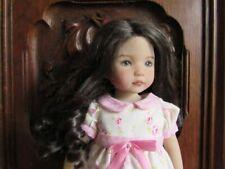 Perruque / Wig  pour poupée Little Darling , bjd taille 7 / 8