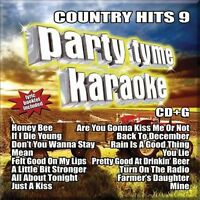 NEW Party Tyme Karaoke - Country Hits 9 (16-song CD+G) (Audio CD)