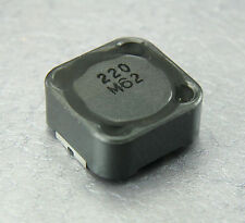 4pcs Sumida Power Inductor Shielded 22uH  220   (12mm X 12mm X 6mm)