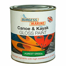 Burgess Marine Canoe and Kayak Gloss Paint  FOREST GREEN 750ml