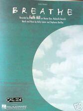 Breathe - Faith Hill - Easy Piano Sheet Music