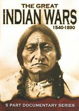 The Great Indian Wars 1540-1890 (DVD, 2009) FREE SH