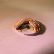 Pastel de frutas ~ Blackberry & Apple ~ ~ alimentos muñeca casa miniatura escala 1/12