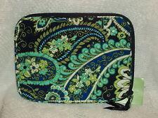 Vera Bradley Rhythm & Blues E-Reader Sleeve Cotton Multi-Color Free Shipping $28