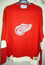 Detroit Redwings 1950-51 Hockey Sweater Jersey- Stall & Dean - Size 3XL