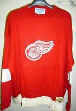Detroit Redwings 1950-51 Hockey Sweater Jersey- Stall & Dean - Size 3XL