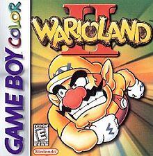 WARIO LAND 2 GAME BOY COLOR GBC COSMETIC WEAR