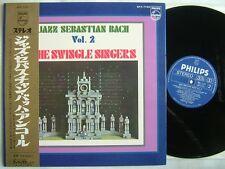 SWINGLE SINGERS JAZZ SEBASTIAN BACH / GATEFOLD COVER WITH OBI