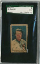 1920 W519 Kid Gleason UnNumbered Strip Card SGC Authentic Black Sox