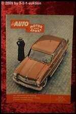 AMS Auto Motor Sport 1/58 Borgward Pullmann Jaguar XK SS DB
