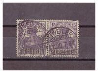Saargebiet, MiNr. 34 Rundstempel Ottweiler 06.11.1920