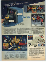 1977 PAPER AD Toy Star Trek Telescreen Console Action Figures Batman Batcave ++