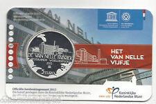 Netherlands Van Nelle vijfje 5 euro 2015 Unc in Coincard
