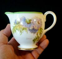 Beautiful Royal Doulton Glamis Thistle Footed Creamer