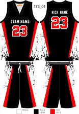 Cooldry Basketball Uniforms Team Tracksuits Splashing Ink Custom Sublimated 173