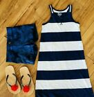 Patriotic stripes School Outfit Girl Beach Fourth of July Stars 6 7 6x