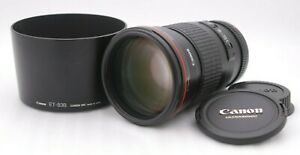 [Near Mint CANON Lens EF 200mm F/2.8 L II USM w/ Lens Hood ULTRASONIC Japan