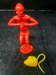 Mouse Trap Classic Board Game Vintage Ideal Red Diver Replacement Part and Mouse