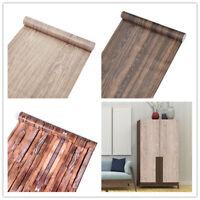 10M Wood Grain Self Adhesive Wallpaper Vinyl Wrap Furniture Film Wall Stickers