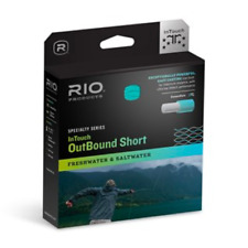 RIO INTOUCH IN TOUCH COLDWATER OUTBOUND SHORT 330 GR WF-8-F FLY LINE FOR 8WT ROD