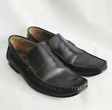 Ted Baker London Simeen 3 Black Leather Slip On Loafer Men's Sz 8 M