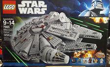 New LEGO STAR WARS Millenium Falcon 7965 Factory Sealed  ALL MINI FIGS HTF NISB