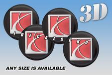 SATURN center wheel cap decals emblems stickers 4 pcs :: Any size :: c/b