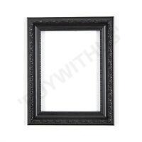 Ornate Shabby Chic Picture frame photo frame poster frame   Black