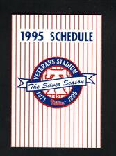 Philadelphia Phillies--1995 Pocket Schedule--Boscov's/Reebok