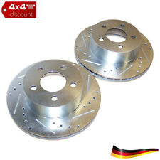 Brake Rotor Set, Drilled & Slotted, anteriore Jeep Cherokee XJ 1990/1999