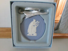 Wedgewood 2010 Jasper Annual Cameo Lady Playing the Lute Christmas Ornament