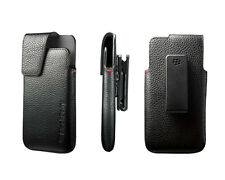 BlackBerry Z10 BB10 Leather Holster Pouch w Swivel Clip ACC-49273-301 OEM NEW RT