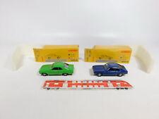 CJ379-0,5# 2x Märklin 1:43 PKW: 18103-01 Opel Manta A + 18103-02 Ford Capri, OVP