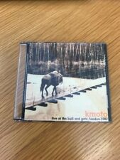 CD Mini Album Kmoto Live At The Bull And Gate May 2002