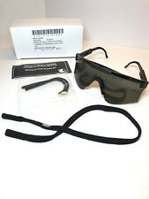 Us made military surplus grey lens safety Shooting glasses class 2 large Nib