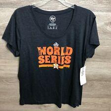 47 Brand Womens XL Houston Astros 2019 World Series T Shirt NEW