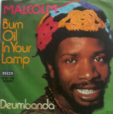 "7"" 1973 RARE ! MALCOLM (= LES HUMPHRIES SINGERS ) Burn Oil In Your Lamp"