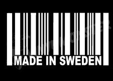 Hecho En Suecia barode Pegatina, Drift Volvo Saab Camión Artic Fh Fl