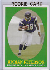 ADRIAN PETERSON Vikings 2007 ROOKIE CARD Topps Turn Back the Clock FOOTBALL RC!