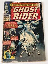 Ghost Rider #1 Marvel Comics 1967 Origin & 1st app Carter Slade Ayers (j#5876)