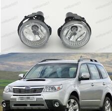 1Pair Front Bumper Fog Lights Lamps For Subaru Forester 2011-2013