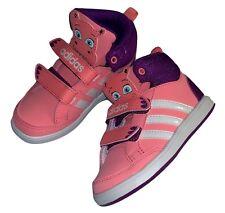 Adidas Hoops Animal MID Infant Sneaker Hyppo Größe 24 mit Klettverschluss