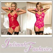 Lace Glamour Lace Up Basques & Corsets for Women
