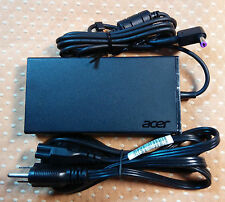 New Original OEM Acer 19V 7.1A AC Adapter+Cord for Acer Aspire T5000-50HZ Laptop