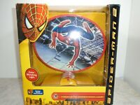 Spider-Man 2: Fiber Optic Lamp Color Morphing 2004 Preowned with Box