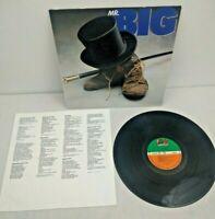 Mr BIG - Mr Big - 1989 1st press Vinyl LP ATLANTIC 781 990-1 NM-/NM-