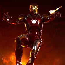 Sideshow Avengers Iron Man Marchio VII Bozzetto Statua Figura Nuovo Sigillato
