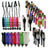 Universal Trio Pack (Micro USB, Car Charger, Mini Stylus) for Doogee Phones