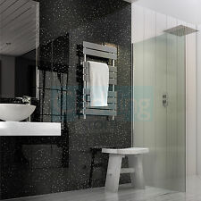 11 x BLACK SPARKLE Diamond Sparkle Stone Gloss Bathroom Cladding Wall Panels